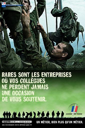 Le recrutement militaire, lorsque l'État doit faire sa publicité | CV_Entretien | Scoop.it
