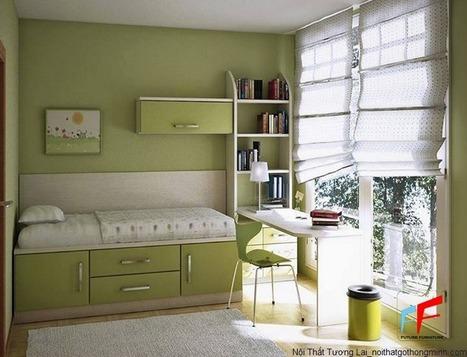 Đặt bàn làm việc hoàn hảo trong phòng ngủ | Sản phẩm nội thất - Interior product | Scoop.it