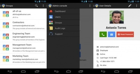 Google Admin: Administra tus servicios de Google Apps fácilmente desde tu Android | android creativo | Scoop.it