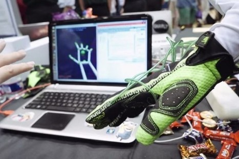 New Gloves Could Let You Feel In Virtual Reality | 3D Virtual-Real Worlds: Ed Tech | Scoop.it