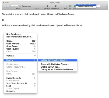 What Are Your Imports Waiting For? FileMaker 13 Perform Script on Server – Part II | All things Filemaker  Go | Scoop.it