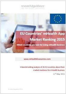 EU Countries' m Health App Market Ranking 2015- #free report | Entrepreneurship in e-health | Scoop.it