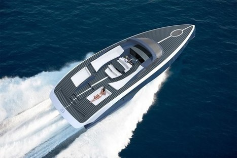Bugatti takes to the water with a €2 million yacht | Cool New Tech | Scoop.it