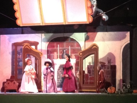 Original Cinderella in marionettes at the Nashville Public Library 2012 | Tennessee Triptales | Tennessee Libraries | Scoop.it