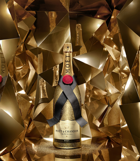 Moët & Chandon se pare d'Or pour les fêtes | Luxury Touch | Luxe 2.0 | Scoop.it