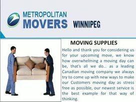 Movers In Winnipeg | Metropolitan Movers Winnipeg | Scoop.it