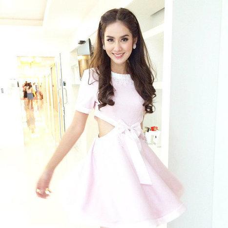 มะนาว ศรศิลป์ สาวยิ้มสวยกับแฟชั่นชิคๆ | fashion in Thailand | Scoop.it
