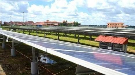 Abre primer aeropuerto que funciona completamente con energía solar | Infraestructura Sostenible | Scoop.it