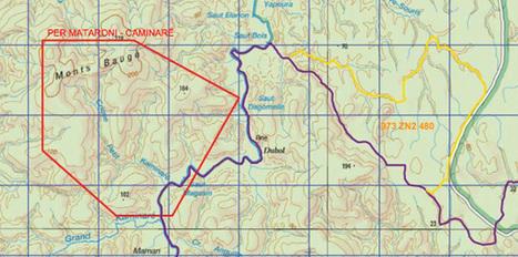 Un permis de recherches de mines accordé   Site d'information généraliste et politique en Guyane ⎢Guyaweb   Guyane : alertes mine d'or Nationale   Scoop.it