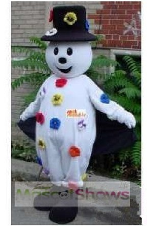 Flower Snowman Mascot Adult Costume - BuyMascotShows.com | BUYMASCOTSHOWS | Scoop.it