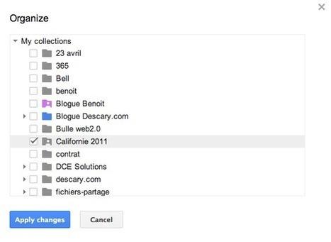 Google Documents facilite le classement des documents | Geeks | Scoop.it