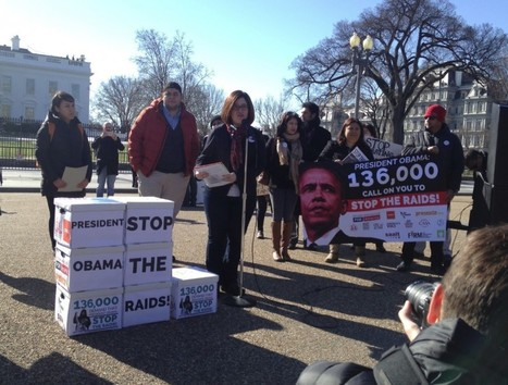 Obama Received 136,000 Petitions To Stop Deportation Raids This Week | Community Village Daily | Scoop.it