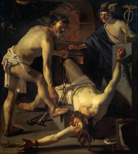Prometeo, la personificación de la evolución del hombre | Griego (y Latín) en el Sierra | Scoop.it
