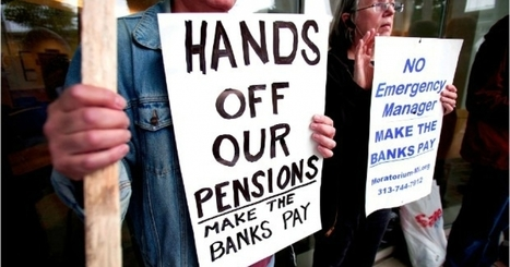 As Millions of Workers Face Pension Cuts Thanks to Wall Street Greed, Executive Benefits Remain Lavish | Global politics | Scoop.it