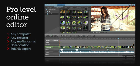 WeVideo - Collaborative Online Video Editor in the Cloud | Vulbus Incognita Magazine | Scoop.it