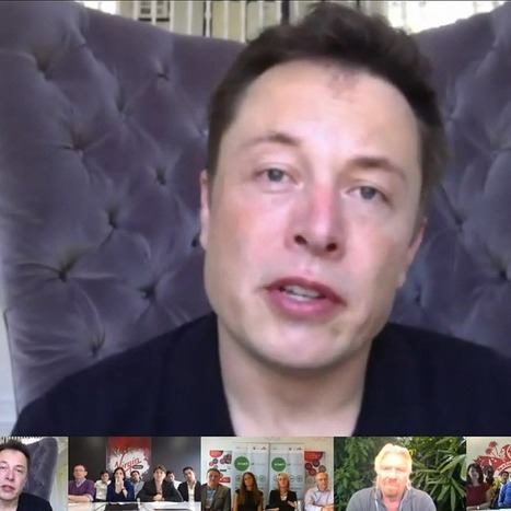 Elon Musk and Richard Branson Share Business Tips in Google+ Hangout | Marketing and brand implementation: creativity and campaigning | Scoop.it