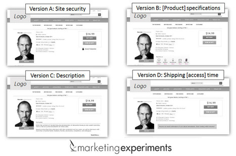 Online Testing: 3 resources to inspire your ecommerce optimization | MarketingExperiments Blog: Research-driven optimization, testing, and marketing ideas | Writing for the web & content marketing | Scoop.it