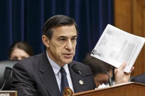 WASHINGTON: Issa, House oversight chair, keeps heat on White House | Congress | McClatchy DC | Upsetment | Scoop.it