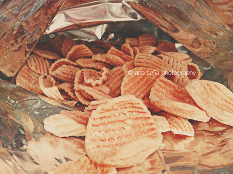 Pomegranate chips/crisps from PDX | Bars, Desserts, Snacks, Flapjacks | Scoop.it