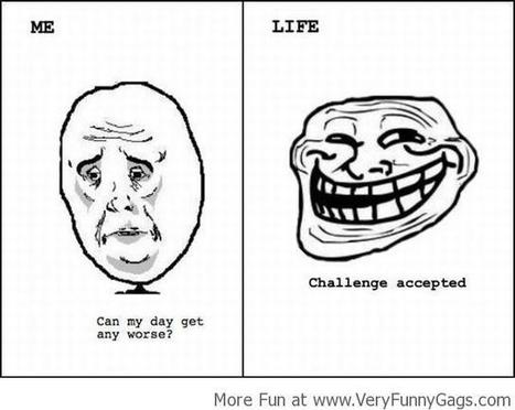 Challenge Accepted!   Funnygags   Scoop.it