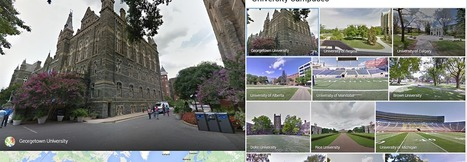 Google's University Street View Puts a New Spin on Virtual Campus Tours   SCUP   Scoop.it