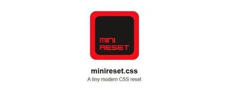Weekly News for Designers (N.349) - Mini CSS Reset, SVG App, CSS Stats | El Mundo del Diseño Gráfico | Scoop.it