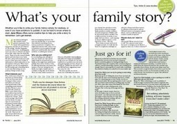 Wondering how to write your family history? Just go for it! — Family ... | Family History Book Ideas | Scoop.it