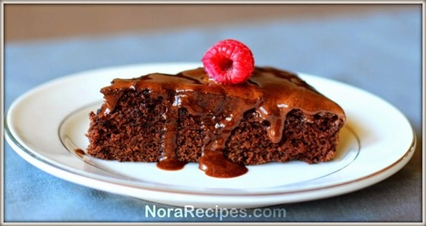 Cake Recipe | CLASSIC CHOCOLATE CAKE | Nora Recipes | Healthy Recipes | Scoop.it