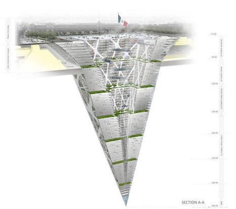 Earthscraper : le gratte-ciel inversé qui s'enfonce dans la terre ! | Les gratte-ciel | Scoop.it
