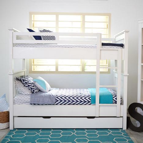 Space Saving Bunk Beds for Children Bedroom | Kids Furniture in Singapore | Scoop.it