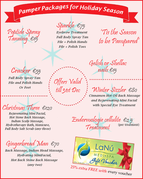 Get Fabulous Pampering Packages for Holiday Seasons | Luxury Spa, Wellness and Beauty Experience | Scoop.it