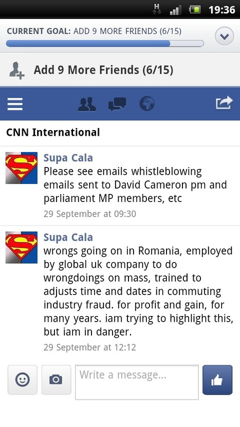 November | 2014 | supacala1 Blog | SUPACALA1, INDUSTRIAL FRAUD WHISTLE-BLOWER | Scoop.it