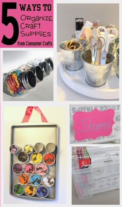 Condo Blues: 13 DIY Craft Storage Ideas | Crafty Stuff | Scoop.it