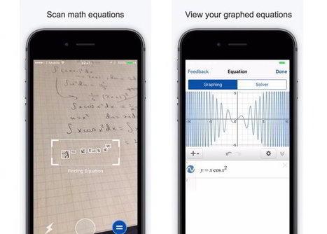 Mathpix, para solucionar ecuaciones y graficar con solo apuntar la cámara del móvil | Aprendiendoaenseñar | Scoop.it