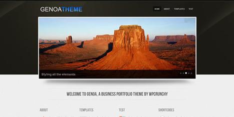 65 Fresh Free WordPress Themes of 2011 | Aries-Graphic Design & Internet Marketing | Scoop.it