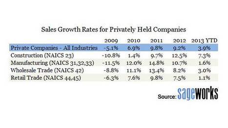 U.S. Businesses Had Strong 2013, But Slowing Sales May Be Concern | Scoops and Scans - Trends We Are Watching | Scoop.it