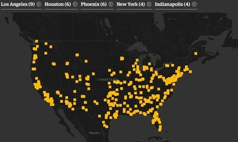 The Counted: the definitive map of US police killings in 2015 | Police Problems and Policy | Scoop.it