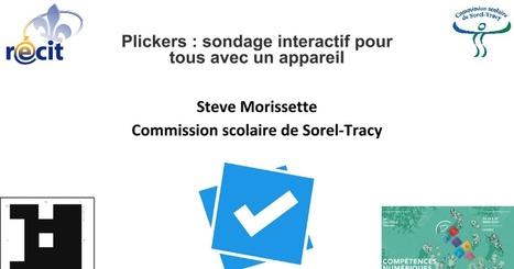 Plickers - Atelier 5507 (AQUOPS 2016) - partage Récit | L'eVeille | Scoop.it
