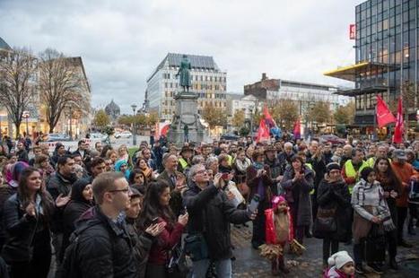 Liège: 300 personnes devant l'Opéra pour soutenir la famille de Ramadan Agaoglu menacée d'expulsion (photos) | Haute Ecole HELMo | Scoop.it