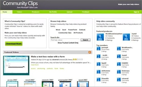 Community Clips | No boundaries-teaching & learning in a 1:1 classroom | Scoop.it