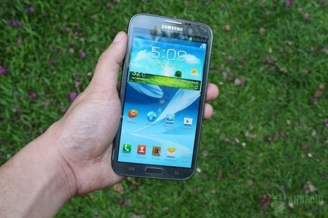 Samsung Galaxy Note 2 getting stability update, Android 4.2.2 will have to wait | Android Discussions | Scoop.it