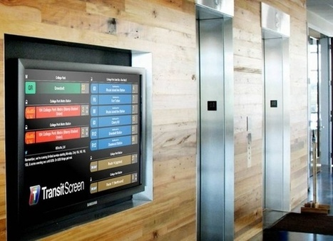 These Real-Time Transit Screens Belong in Every Lobby | Sustainable Futures | Scoop.it