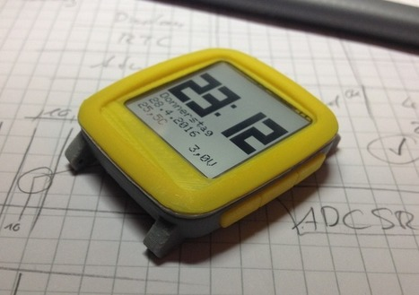 Chronio - Low power Arduino based (smart)watch - Electronics-Lab | Raspberry Pi | Scoop.it