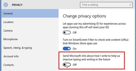 Reminder! If You Haven't yet, Turn Off Windows 10 Keylogger Now | Websites I Found So You Don't Need To | Scoop.it