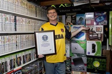 NY man's 10,607 video games secure Guinness title | Technoculture | Scoop.it