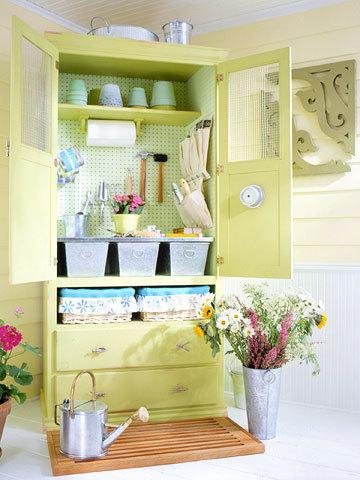 Garden Storage Cabinet   Upcycled Garden Style   Scoop.it