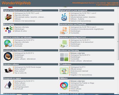 WonderWijsWeb / ICT-integratie in de lerarenopleiding | Info Mediawijsheid leerkracht: Mediawijsheid PO | Scoop.it