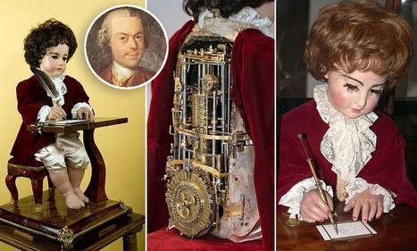 The world's first computer: Mechanical boy built 240 years ago engineered the ... - Daily Mail | automata and automatons | Scoop.it