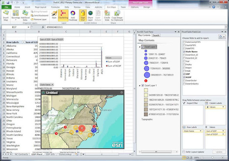 Esri Maps for Office 1.0 release now available | ArcGIS-Brasil | Scoop.it
