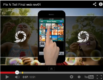 Pixntell - Create Beautiful Slideshows on Your iPhone or iPad | Educatief Internet | Scoop.it
